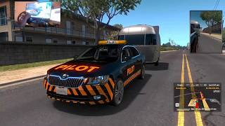 auto piloto  2 american truck simulator multiplayer