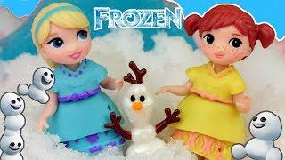 Frozen • Ulepimy dziś bałwana • Zabawy Elsy i Anny • bajka po polsku