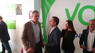 Ortega-Smith inaugura la sede de Vox en Salamanca