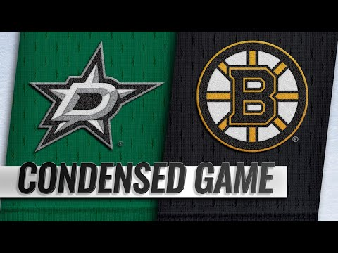 11/05/18 Condensed Game: Stars @ Bruins