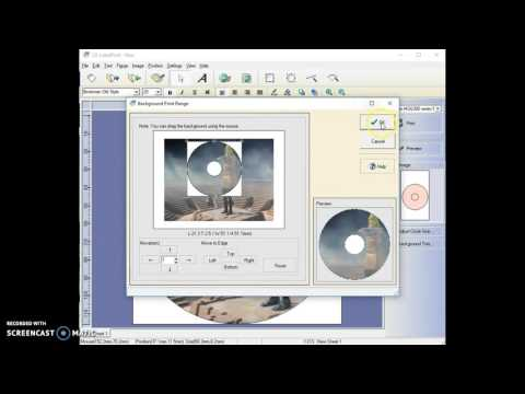 Intro to Cd-Labelprint software