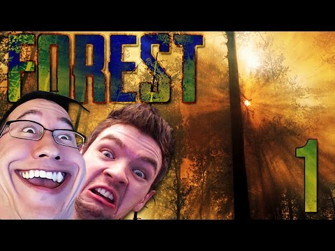 Thumbnail: DUMB AND DUMBER | The Forest COOP w/ JackSepticEye - Part 1