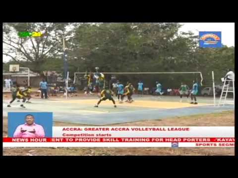 Sports: Greater Accra Volleyball league starts