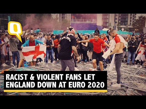 British Football 'Fans' Let Country Down After England Team's Inspiring Euro 2020 Run