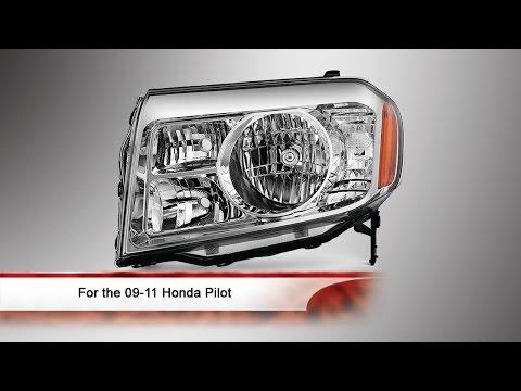 09-11 Honda Pilot OEM Style Headlight