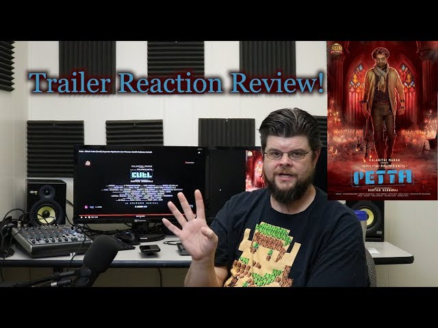 🎥 Petta - Tamil Trailer Reaction Review!