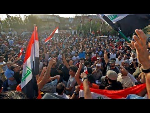 تصاعد التوتر جنوب العراق والشرطة تفرق المحتجين بالهراوات  - نشر قبل 2 ساعة
