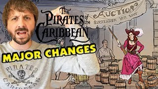 PIRATES OF THE CARIBBEAN MAJOR CHANGES - Is Disney Too Politically Correct?
