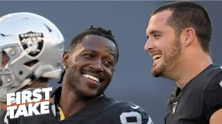 Antonio Brown doesn't make the cut on Stephen A.'s top 5 wide receivers in the NFL | First Take