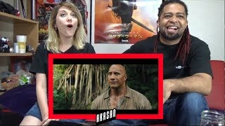 JUMANJI: WELCOME TO THE JUNGLE - Official Trailer #2 | REACTION & REVIEW