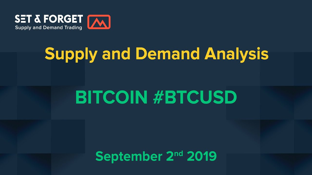 BitCoin crypto currency forecast and prediction using supply and demand technical analysis
