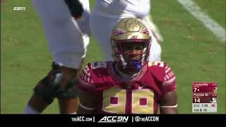 FSU DE Brian Burns Top Plays 2017