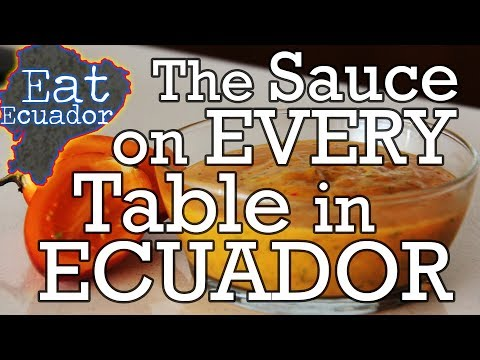 The Sauce On Every Table In Ecuador   Where To Eat In Quito