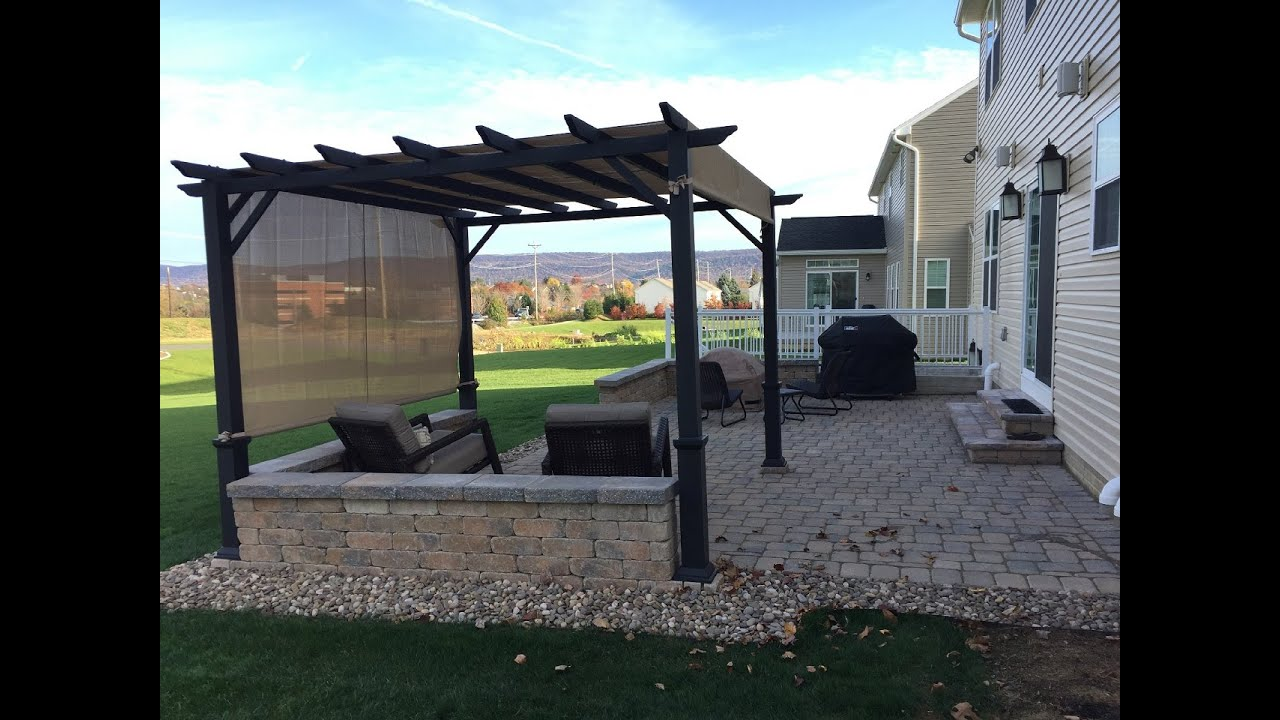 Anchor Pergola To Pavers