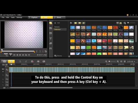 Create a Custom Slideshow in VideoStudio