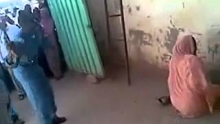Shocking video shows moment Sudanese woman was flogged in the street