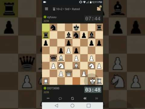 Lichess game from 2017 03 31 - king hunt in the endgame