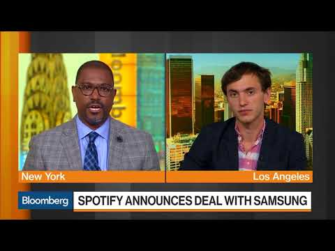 Spotify teams with Samsung to help fight off Apple Mp3