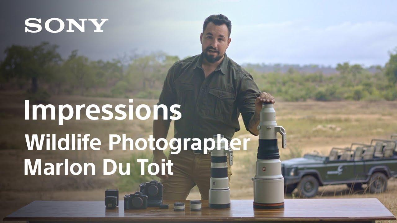 Bring Wildlife Closer to You   Impression by Wildlife Photographer Marlon Du Toit   Sony   Lens