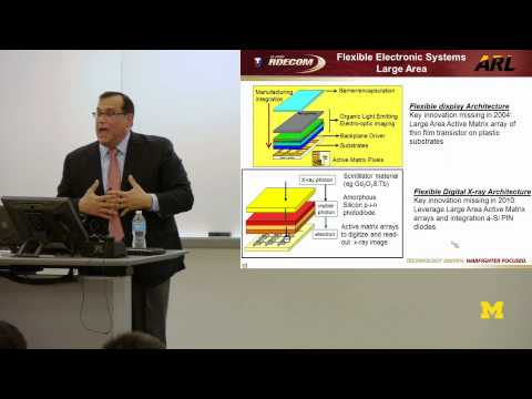 Dr. Perconti, Director U.S. Army | Flexible Electronics: Solder Applications and Industry Model