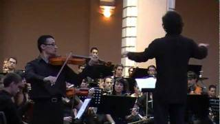 Béla Bartók  Viola y Orquesta Concerto Op. Posth (Primera parte). Pedro Romero Vargas