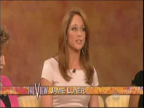 "AMC's Jamie Luner (Liza Colby) on ""The View"""