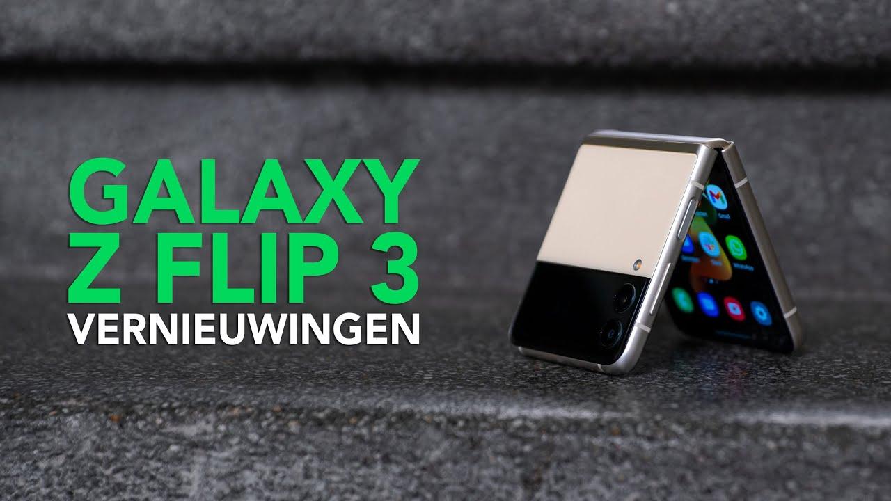 Samsung Galaxy Z Flip 3: dit zijn de 3 belangrijkste verbeteringen