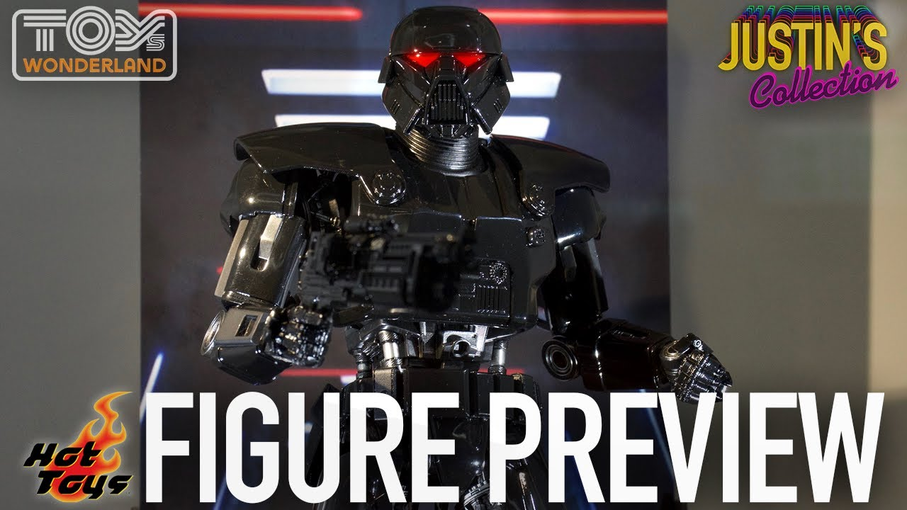 Hot Toys Mandalorian Dark Trooper - Figure Preview Episode 81