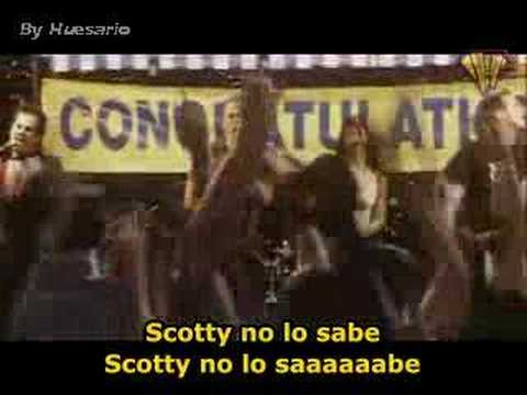 Scotty no lo sabe subtitulado español