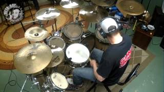 "CONVERGE-""Dark Horse"" drum cover by Josh Kissinger"