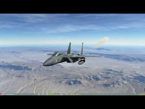 DCS 2.0 Nevada F-15C Red Flag Mission 1: Red Flag Arrival