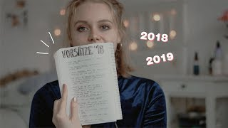 Vorsätze 2018/2019 – Was sich geändert hat & was ich erreicht habe. ✨