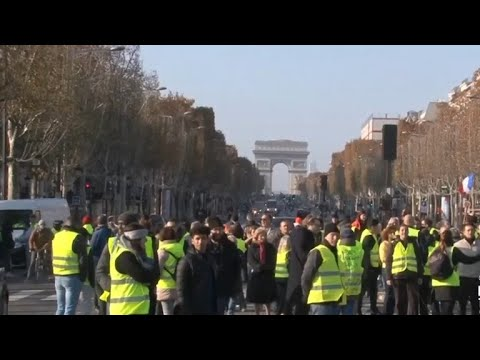 Protester dead in France after fuel tax protests
