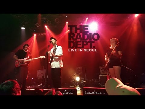 The Radio Dept. - Heaven's on Fire [live in Seoul] 2016.06.27
