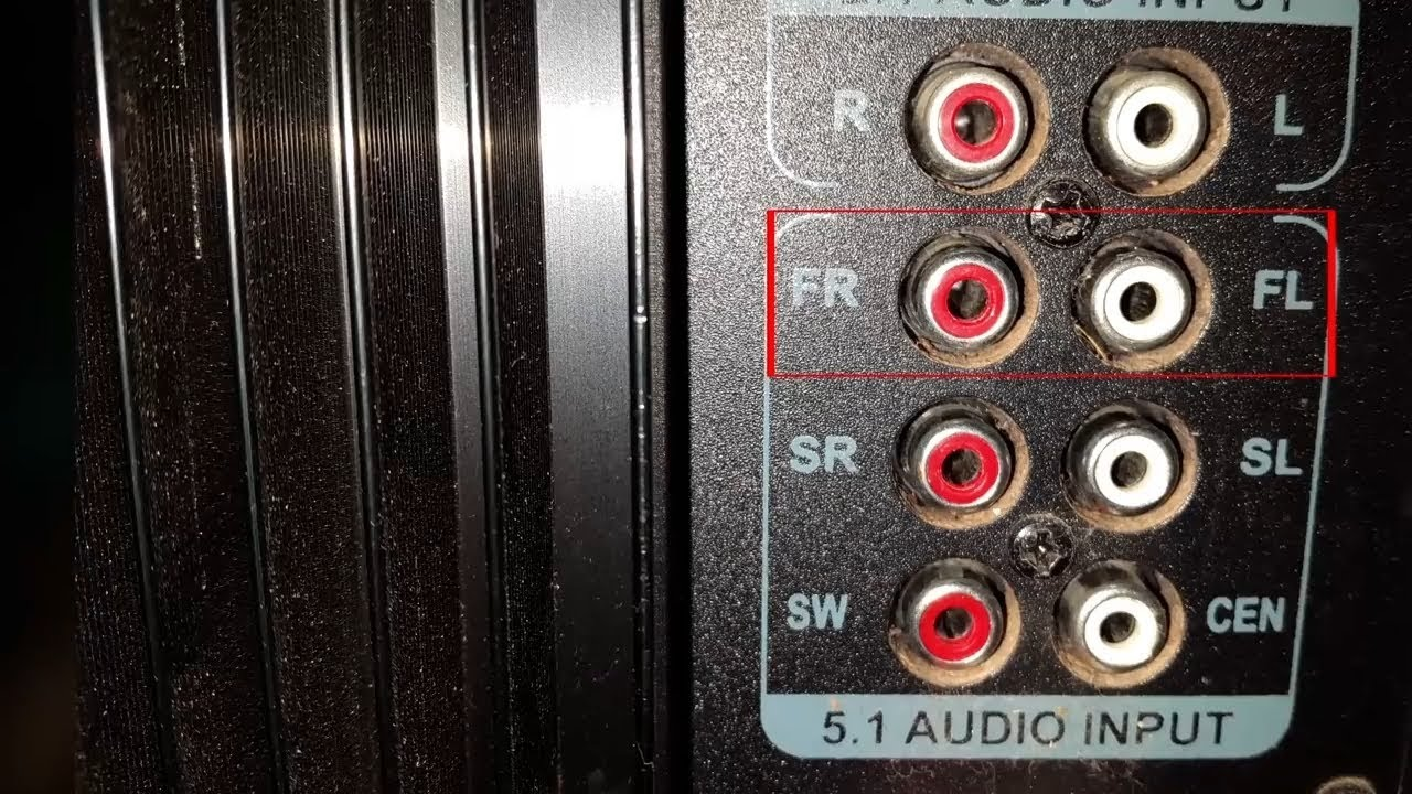 how to connect 5 1 home theater to your pc [ 1280 x 720 Pixel ]