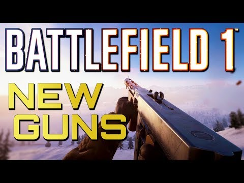 Battlefield 1: NEW GUNS! Weapon Crate Update! (PS4 PRO Multiplayer Gameplay) thumbnail