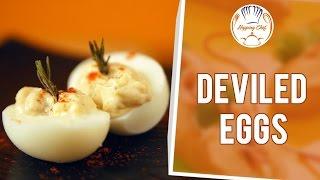 How To Make Deviled Eggs By Chef Priyanka || Hopping Chef