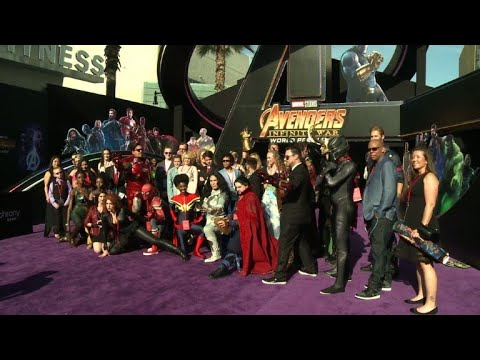 """Marvel team at """"Avengers: Infinity War' Hollywood premiere"""