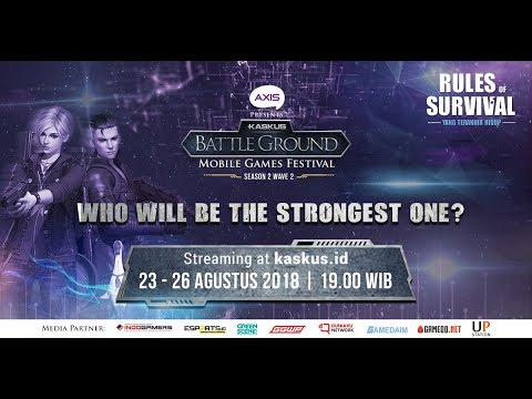 [DAY 1] KASKUS Battleground ROS Season 2 Wave 2
