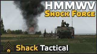 HMMWV Shock Force - ShackTac Arma 2