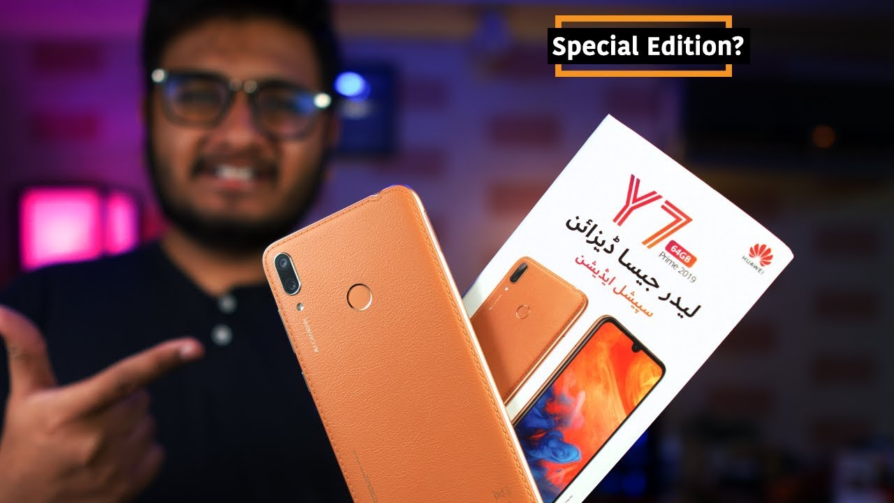 Huawei Y7 prime 2019 Unboxing Special Edition !