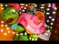 Children's playground with electric toy turtle