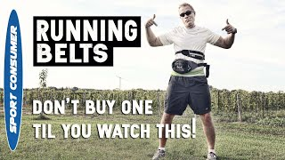 Running Belts - What Kind Should I Buy?