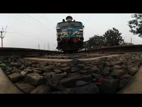 Train 360 degree video