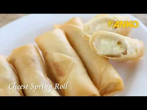 How To Make Cheese Spring Roll By ANKO Food Machine