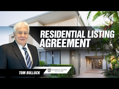 Residential Listing Agreement - California Contracts & Compliance