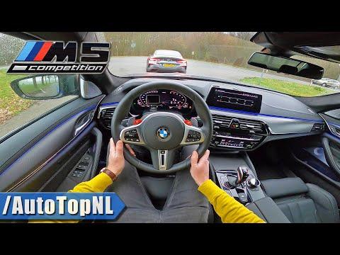 2020 BMW M5 F90 COMPETITION POV Test Drive W/ BMW M850i By AutoTopNL