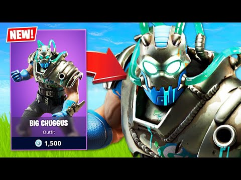 New SLURP MONSTER Skin! (Fortnite Battle Royale)