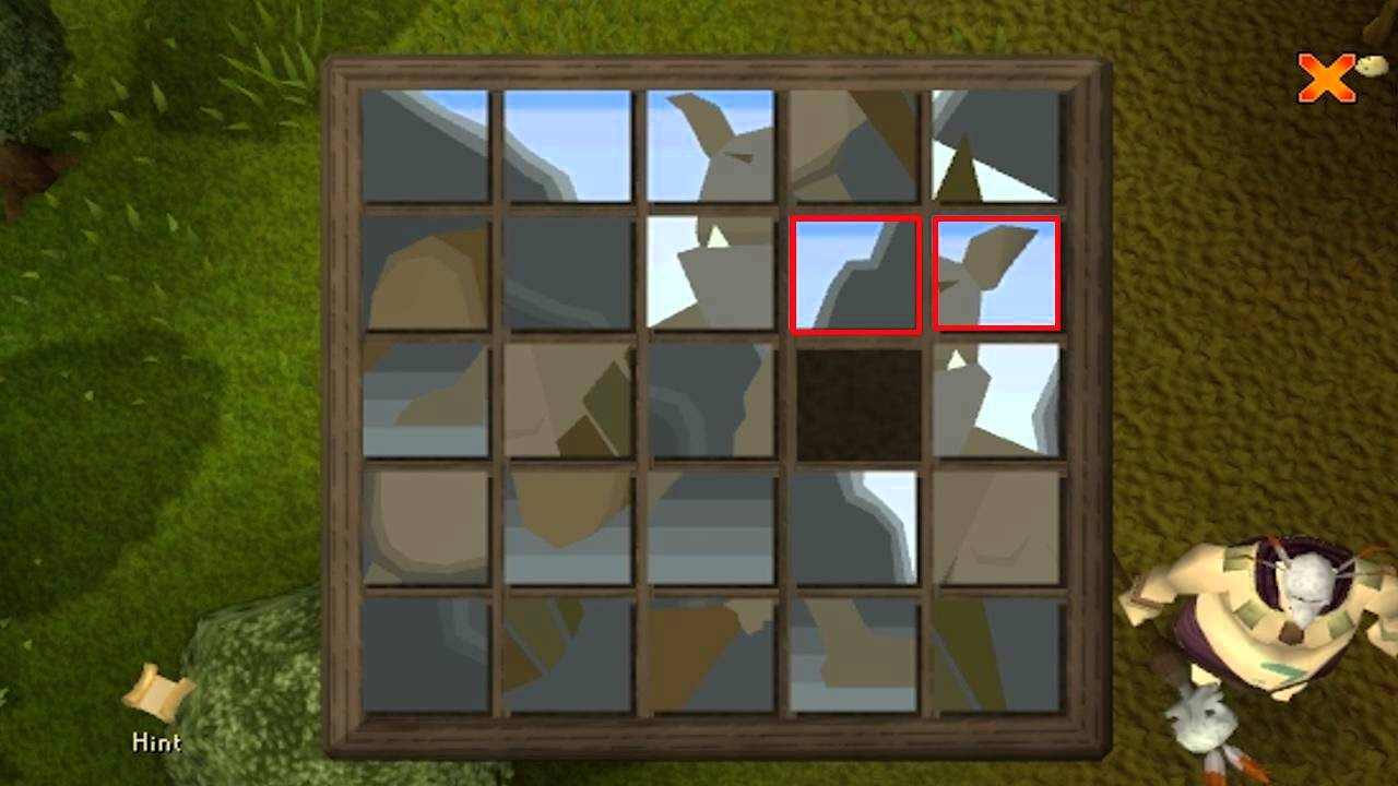 How To Solve Sliding Puzzle Boxes Runescape Commentary