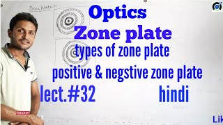 Zone plate in hindi